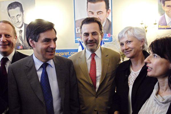 Martine Weill-Raynal en 2008, à droite de Françoise de Panafieu