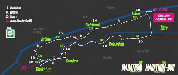 Le parcours du Marathon 2019