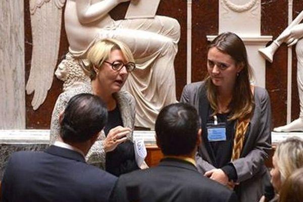 Catherine Beaubatie, député socialiste de Haute-Vienne, à l'Assemblée nationale (illustration)
