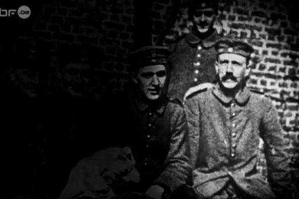 Le caporal Hitler en 1916.