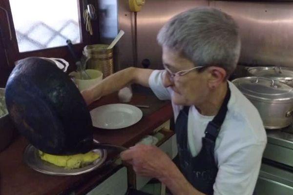 L'omelette aux cèpes, l'une des spécialités de la maison.