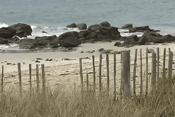 Plage de Kervillen à la Trinité-sur-Mer (56)