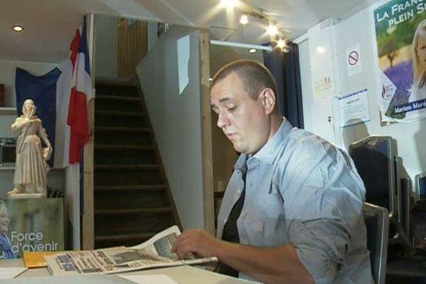 Michel Thooris - Membre comité central et secrétaire départemental adjoint Front National 06