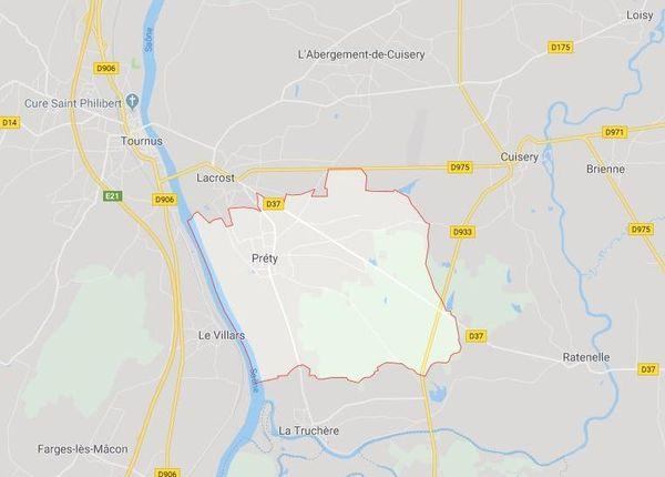 Préty, commune du Tournugeois