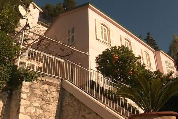 La villa Succo à Roquebrune Cap Martin