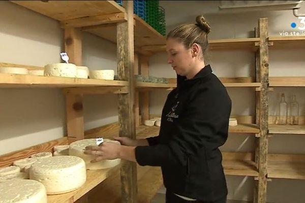 Ophélie Renucci a ouvert sa laiterie dans le Nebbiu au mois de mars dernier.