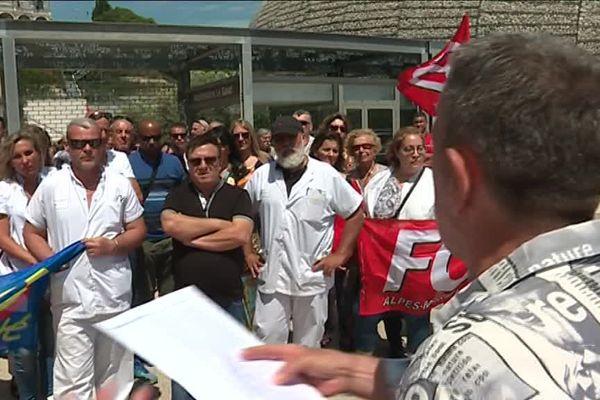 L'AG du syndicat FO ce mercredi 24 mai à l'hôpital Pasteur 2 à Nice