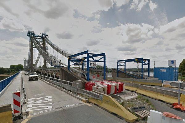 Le pont d'Ancenis en travaux, difficultés de circulation la nuit à partir du 19 janvier