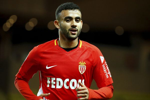 L'attaquant international algérien de Monaco, Rachid Ghezzal.