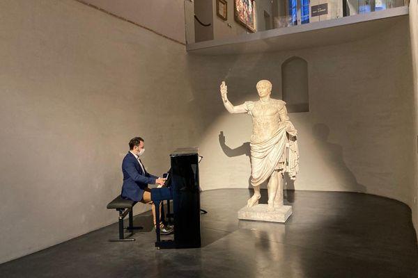 Le musée des Amériques d'Auch a rouvert ses portes dès 6h, ce mercredi 19 mai, en proposant des animations musicales et des visites guidées.