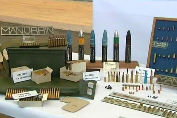 Manurhin fabrique des machines de munitions