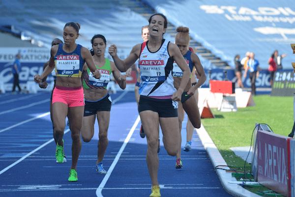 Blameble devient championne de France du 800 m