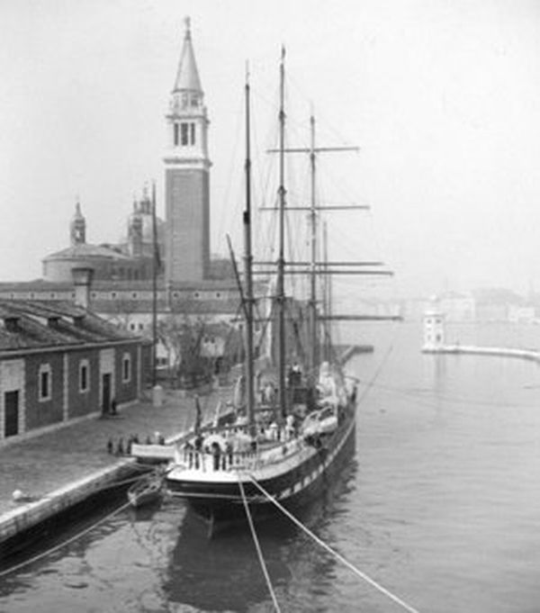 Giorgio Cini,amarré à l'île San Giorgio Maggiore