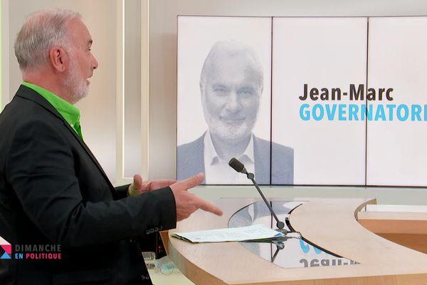 Jean-Marc Governatori est l'invité de Dimanche en Politique Côte d'Azur