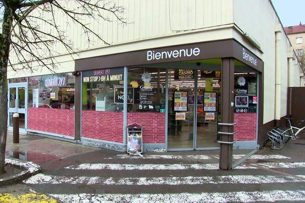 Le supermarché Casino de la rue d'Auxonne à Dijon