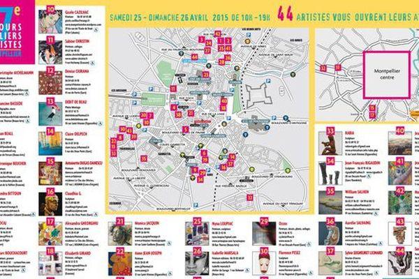 44 artistes vous ouvrent leur atelier à Montpellier ce week-end.