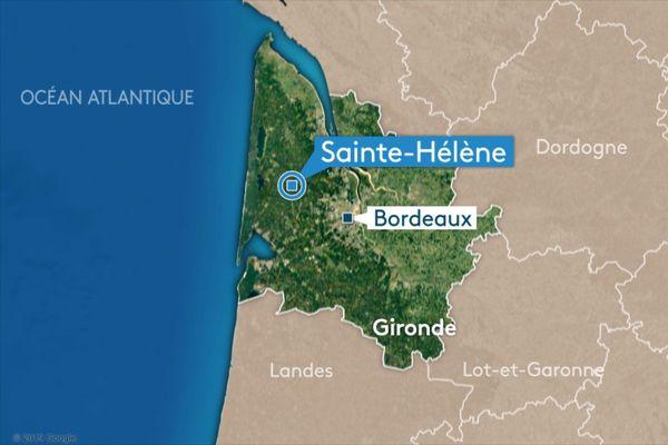 Un accident grave s'est produit vendredi soir à Saint-Hélène en Gironde.