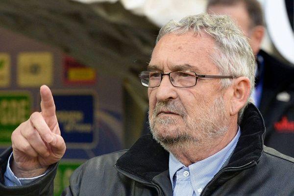 Jean-François Fortin, président du Stade Malherbe de Caen