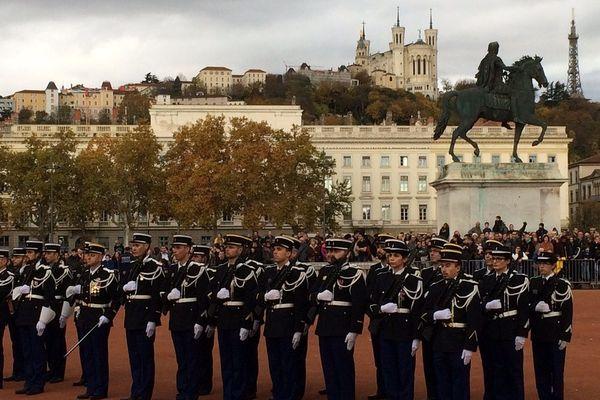 Lyon, le 11 novembre 2018... un siècle après l'armistice de la Grande Guerre