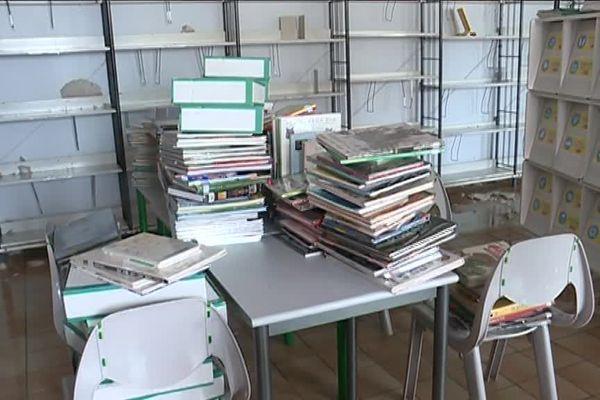 Les pluies diluviennes de début juin avaient saccagé le collège de l'Immaculée Conception La Salle à Clisson