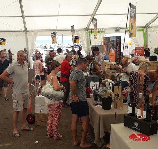 Les visiteurs étaient nombreux pour cette 30e édition de la foire aux vins