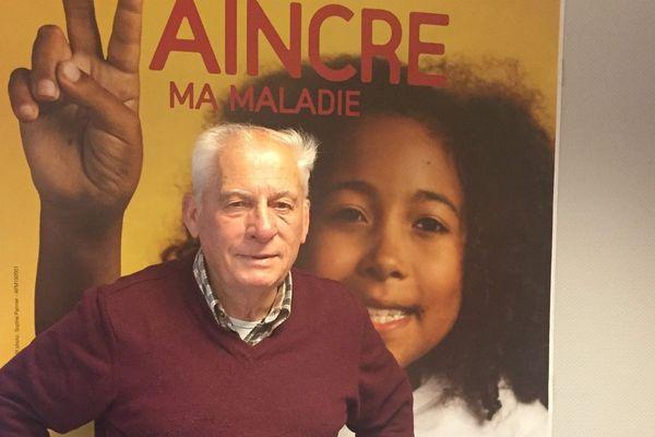 Jean-Paul Guinefoleau coordonne le Téléthon dans le Calvados depuis le premier, en 1987.