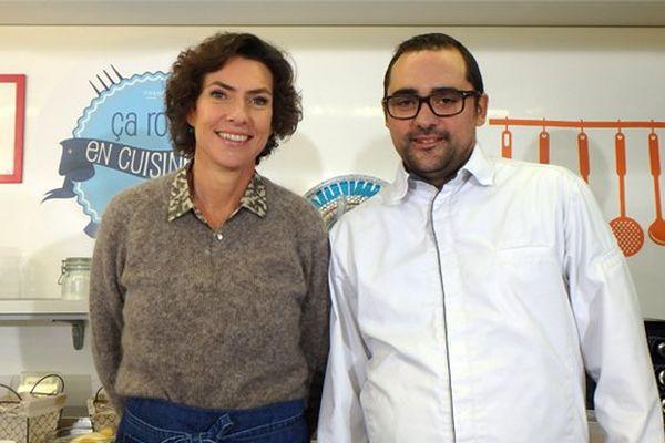 Sophie Menut et Jérôme Lathuilière