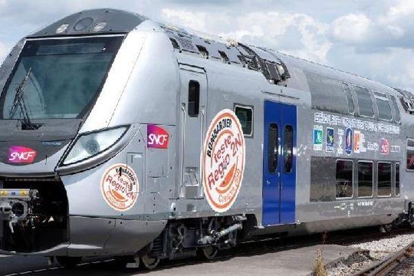 Les nouvelles rames Regio 2N (fabriquées par le constructeur Bombardier) ont la particularité d'être modulables.
