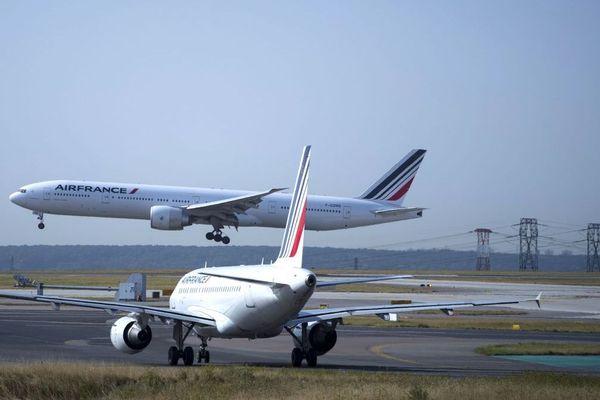 L'aéroport Roissy-Charles de Gaulle, au nord de Paris