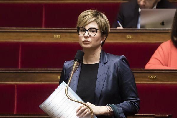 Audrey Dufeu, députée de Loire-Atlantique, auteure d'une proposition de loi destinée à lutter contre l'âgisme