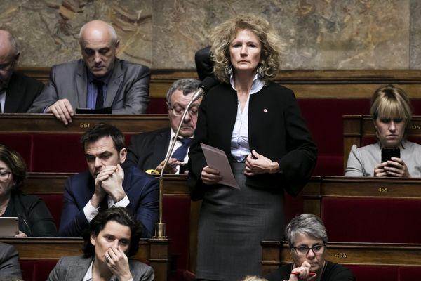 Martine Wonner à l'Assemblée nationale