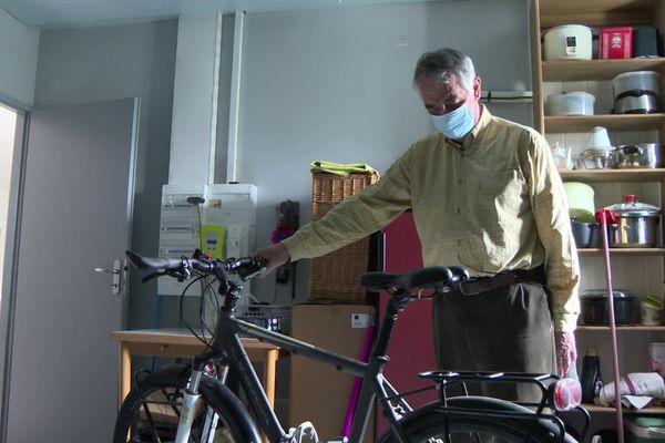 """""""Mon ambition, c'est de remonter sur mon vélo"""", confie Daniel Birfet"""