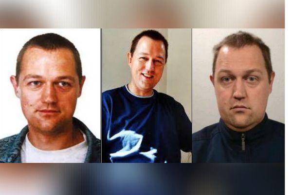 La photo du suspect Martin Ney à différents âges diffusée par la cellule disparition 44 de la gendarmerie