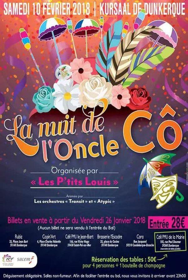 L'affiche de la Nuit de l'Oncle Cô