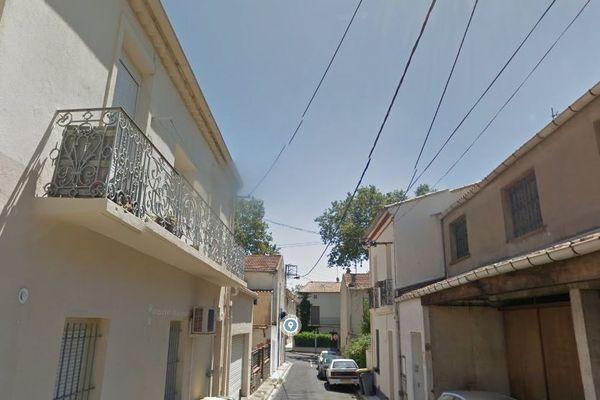 C'est dans cette rue JB Carpeaux de Béziers qu'un corps carbonisé a été retrouvé.