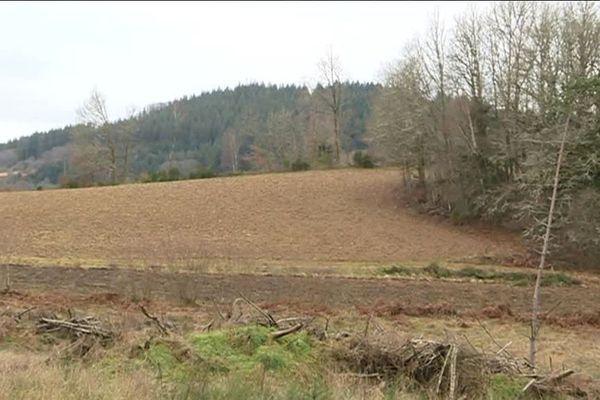 La Villedieu (Creuse) où les terres agricoles se font rares.