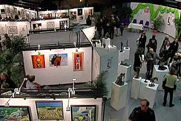 Salon des peintres du bocage au Forum de Flers (Orne)