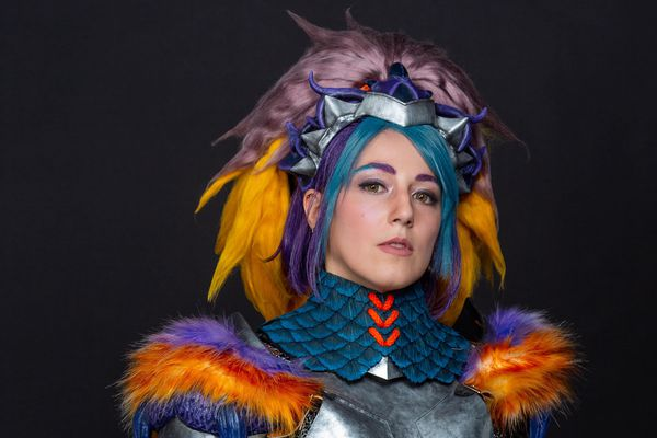 Alexia, alias Kyuti (Troyes) - troyenne et vice-championne de France de cosplay