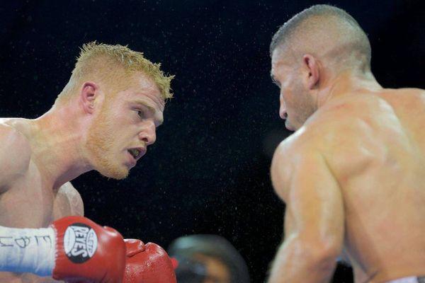 """Maxime Beaussire a remporté le """"D-Day Boxing Show"""" face à 1 500 spectateurs, samedi 22 juin 2019."""