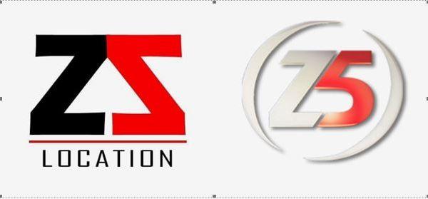 Cette société de location a un logo semblable à un autre, celui du complexe sportif le Z5.