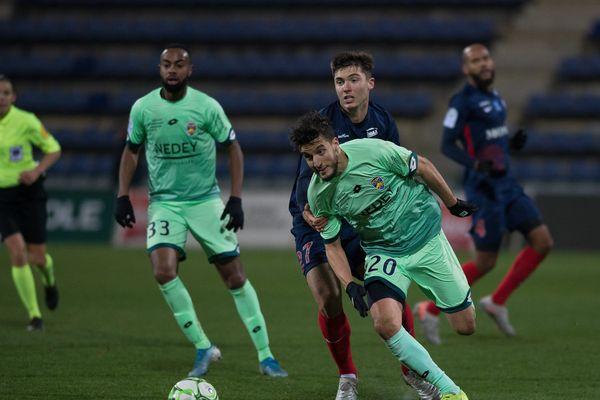 Malgré son but splendide, Younès Kaabouni et les Sochaliens n'ont ramené qu'un match nul de Chateauroux (1-1)