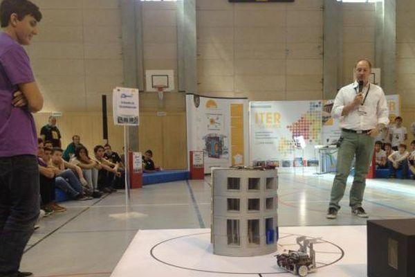 Les robots ont été jugés sur plusieurs épreuves de vitesse et de maniabilité