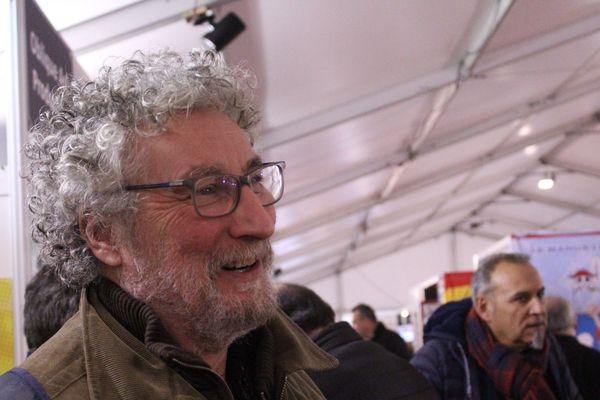 Régis Loisel, au BD Boum 2018, à Blois.