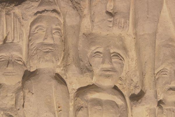 Les sculptures de Dénezé-sous-Doué