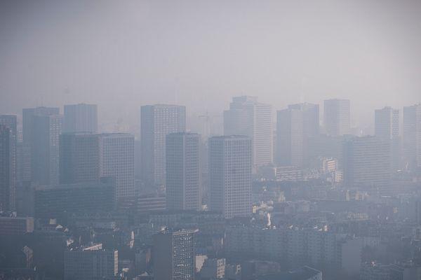 Pollution de l'air en Ile-de-France