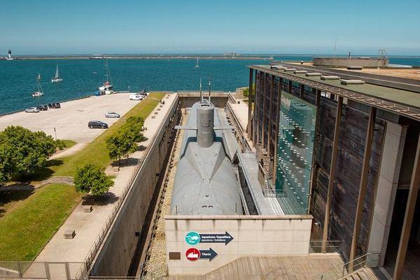 """La Cité de la Mer de Cherbourg et son fameux sous-marin le """"redoutable"""""""
