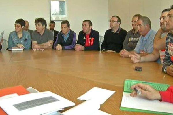 Réunion de travail au Conseil Régional pour les salarié s de Gascogne, le 18 mars 2014