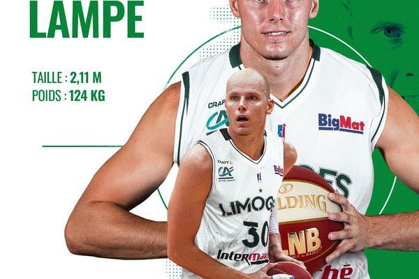 Maciej Lampe, le pigiste médical de Jerry Boutsiele va arriver au Limoges CSP.
