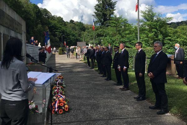 Les cérémonies officielles de commémoration des Pendus de Tulle se sont déroulées cette année en comité restreint, pour cause de Covid-19.