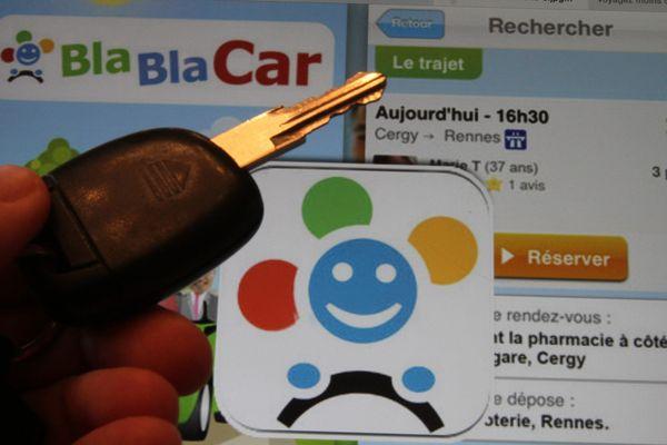 Les victimes et leur agresseur avait pris contact sur le site de covoiturage BlaBlaCar
